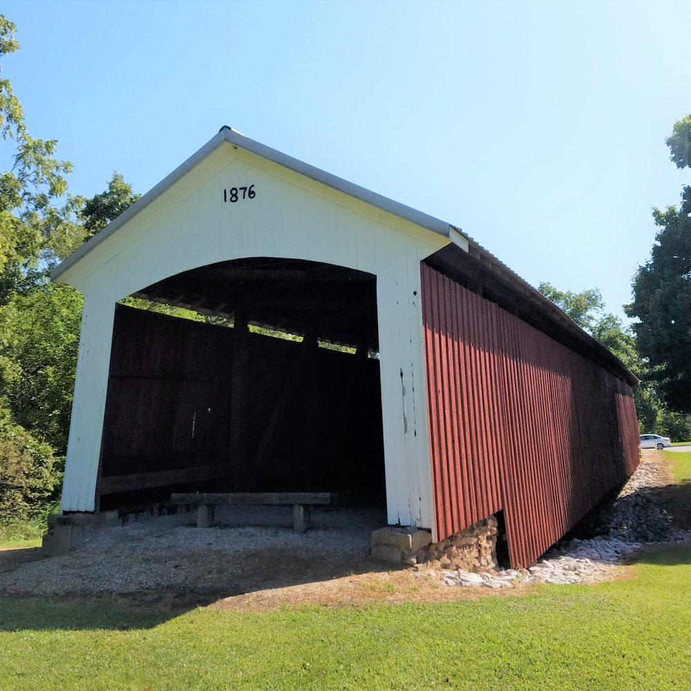 Possum Bottom - Hillsdale Covered Bridge: Cr 600 S, Dana, IN
