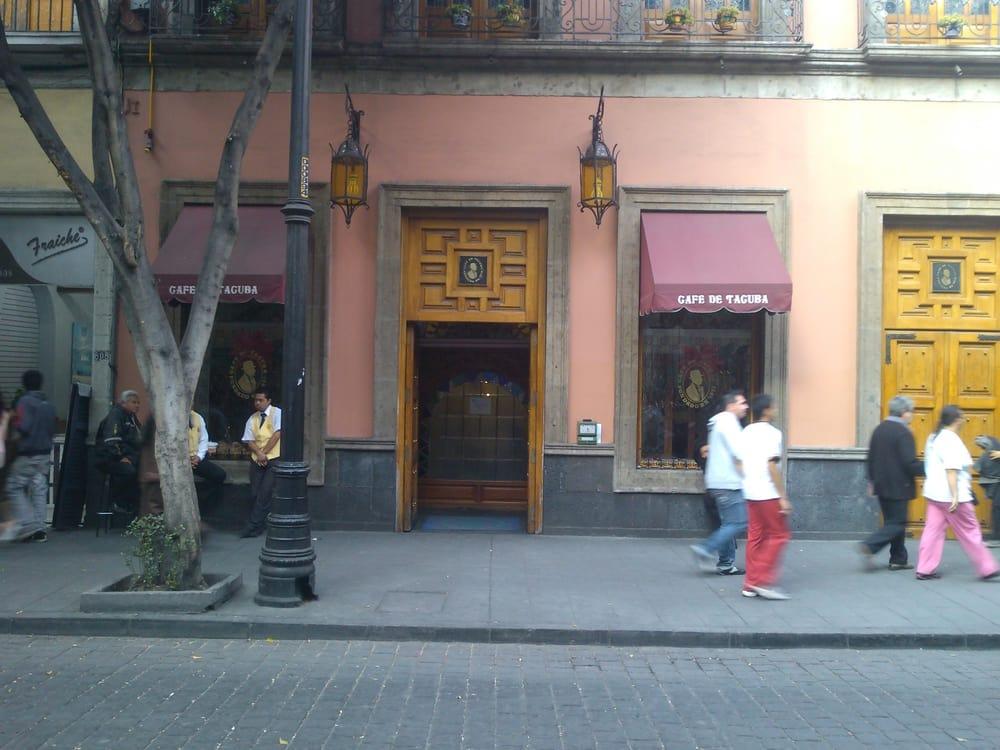 Fachada del caf tacuba ubicado en la calle de tacuba 28 for Cafe el jardin centro historico