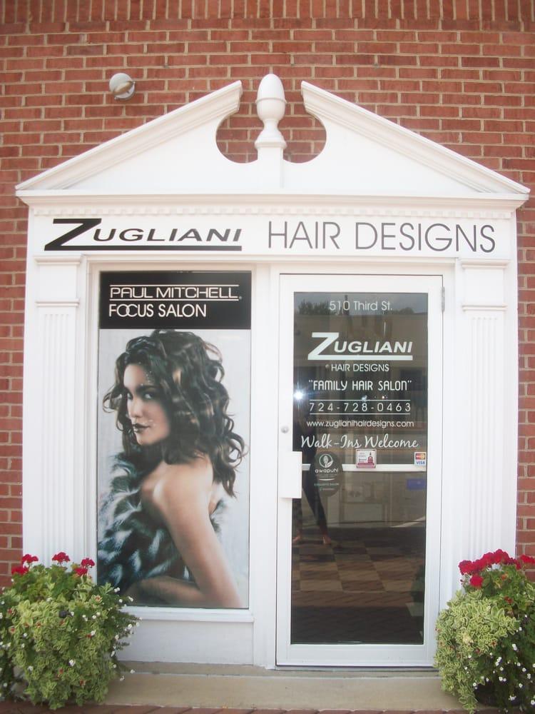 Zugliani's Hair Designs: 510 3rd St, Beaver, PA