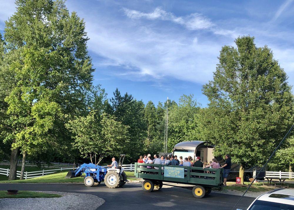 Cross Creek Camping Resort: 3190 S Old State Rd, Delaware, OH