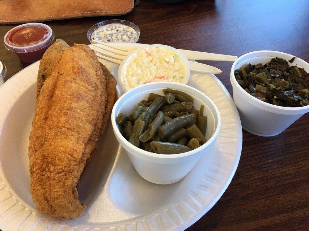 Delicious yelp for Carolina fish fry