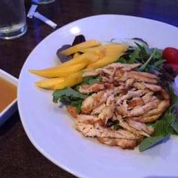 Murasaki - Cape May Court House, NJ, United States. Mango grilled chicken salad w/ mango dressing on side