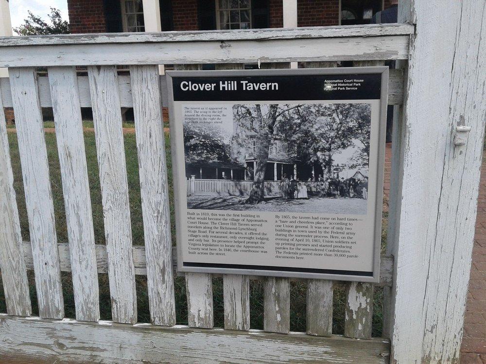 Clover Hill Tavern: 111 National Park Dr, Appomattox, VA