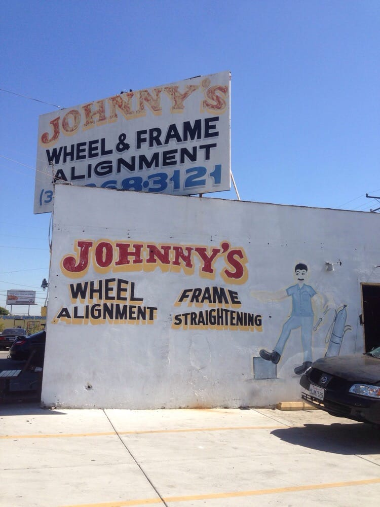 johnnys wheel frame alignment 12 reviews auto repair 4936 e olympic blvd east los angeles los angeles ca phone number yelp
