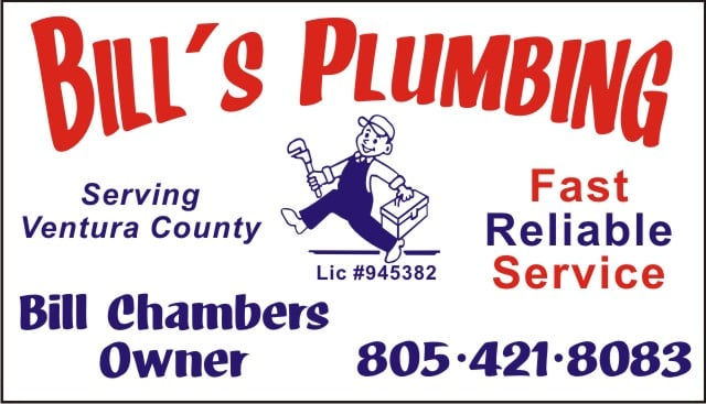 Bill's Plumbing: 415 Price St, Fillmore, CA