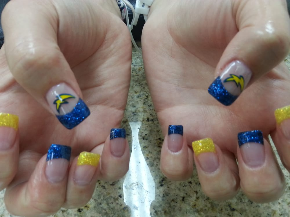 san diego charger nail - Yelp