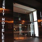 photo of hotel zenit conde borrell barcelona spain main entrance night