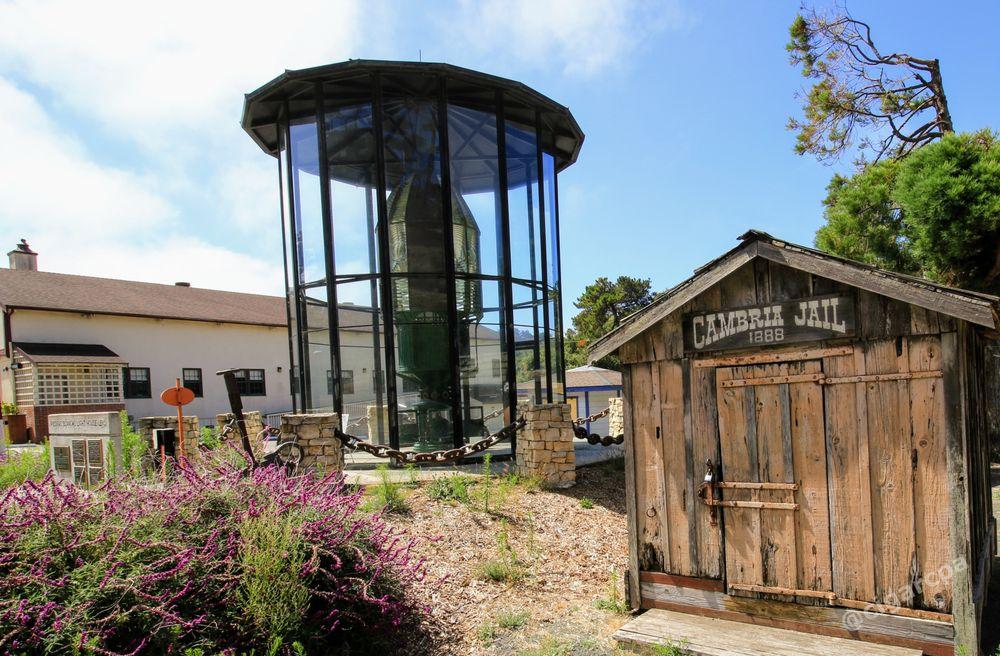 Piedras Blancas Lighthouse Lens: 1000 Main St, Cambria, CA