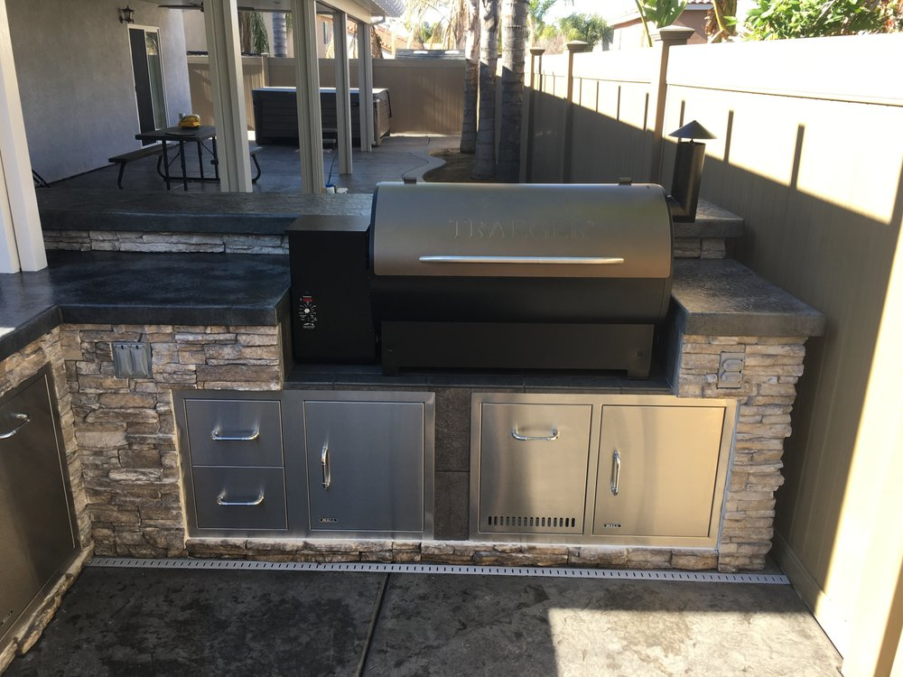 Photo Of Parkway Construction Services Temecula Ca United States Custom Built Bbq