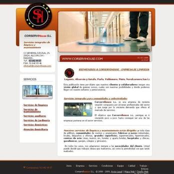 Empresas de limpieza Corservihouse - Limpieza de oficinas - General ...