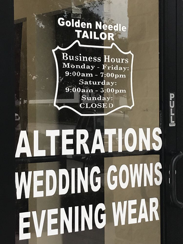 Golden Needle Tailor: 10161 W Colonial Dr, Ocoee, FL
