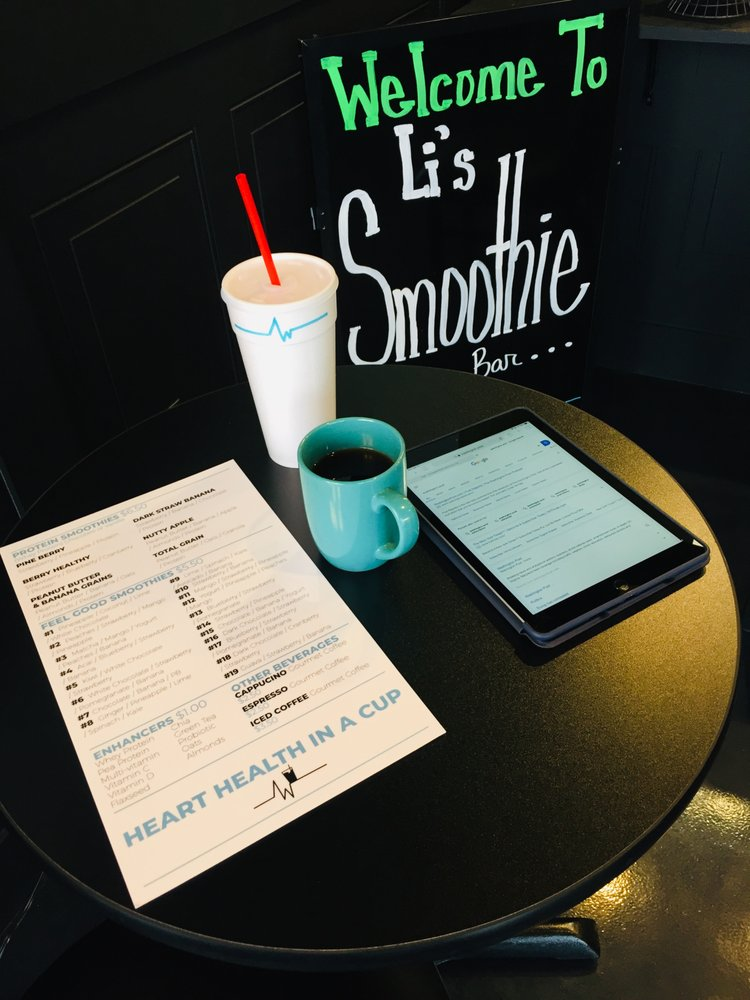 Li's Smoothie Bar: 23203 Columbus Rd, Mansfield, NJ