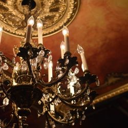 Photo Of Mystique Dining   Folsom, CA, United States. Beautiful Chandelier