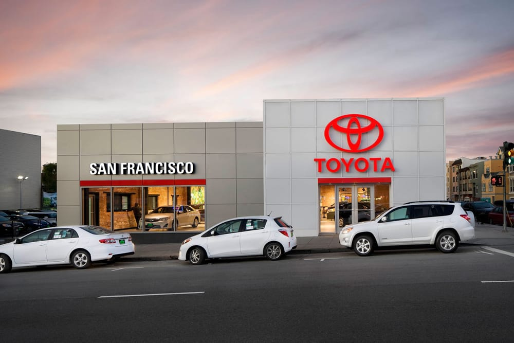Toyota Dealers Near Me >> San Francisco Toyota - 27 Photos - Car Dealers - Inner ...