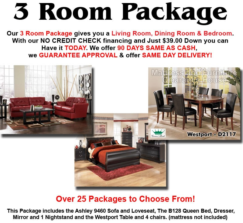 . 3 Room Package with Ashley Furniture for  1299 00   Yelp