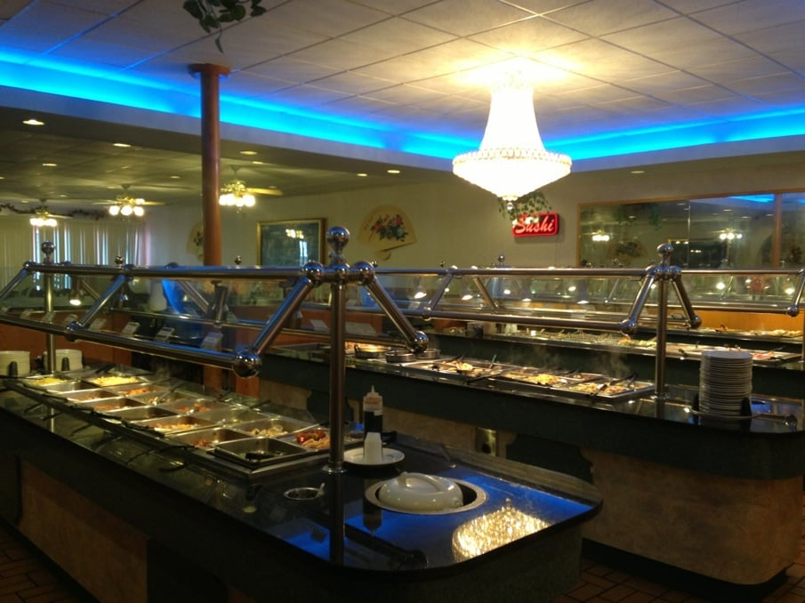 Food from Hibachi Grill & Buffet
