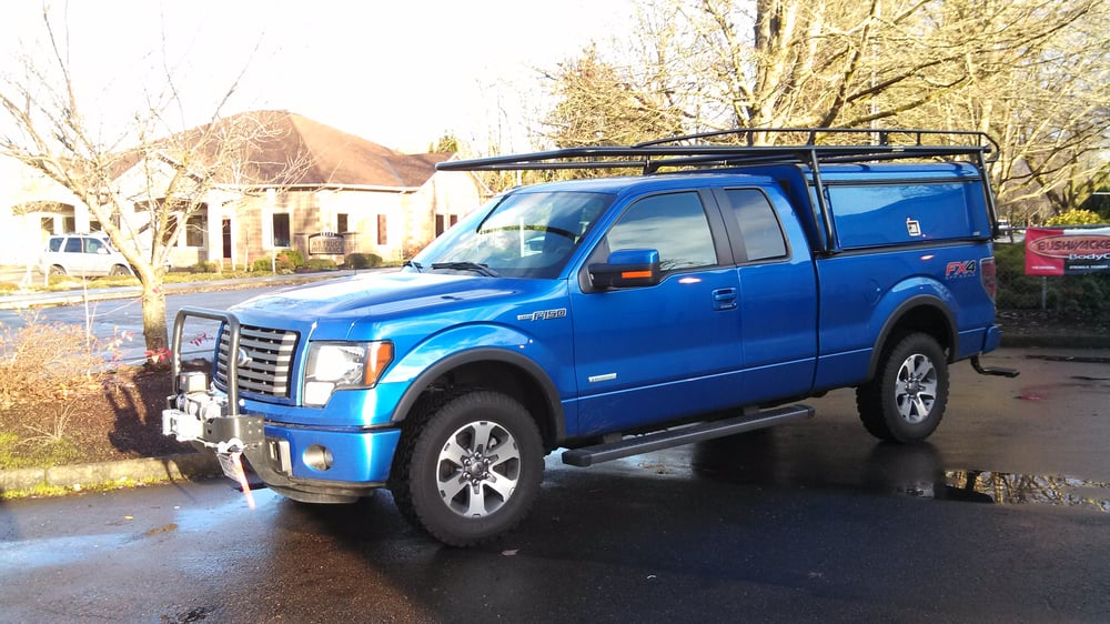 22 photos for Accessory Outfitters & ARE Brand DCU aluminum canopy and a Kargomaster ladder rack. - Yelp