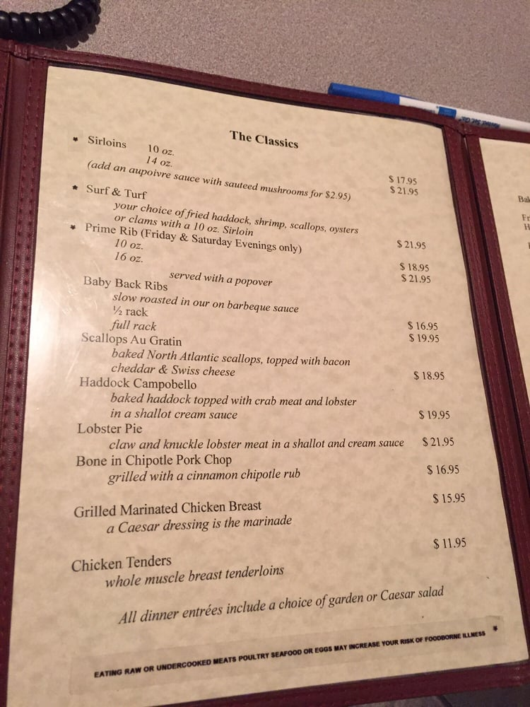 Lafleur's Restaurant: 224 Main St, Jay, ME