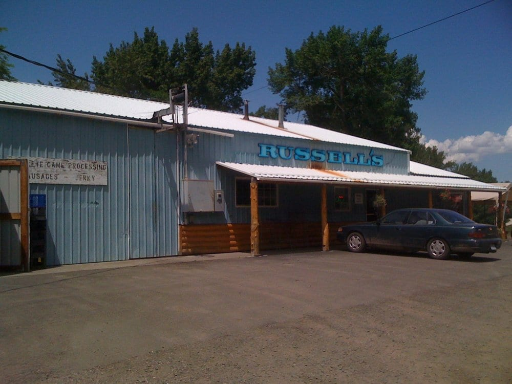 Russell's Custom Meats & Deli: 235 N Canyon City Blvd, Canyon City, OR