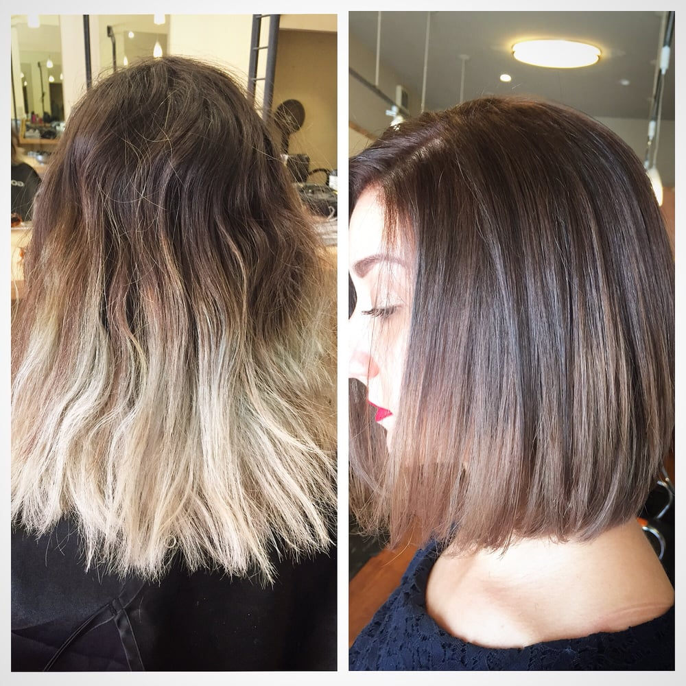 I Did Color Correction For My Client Melody To Correct Her Bad Ombre