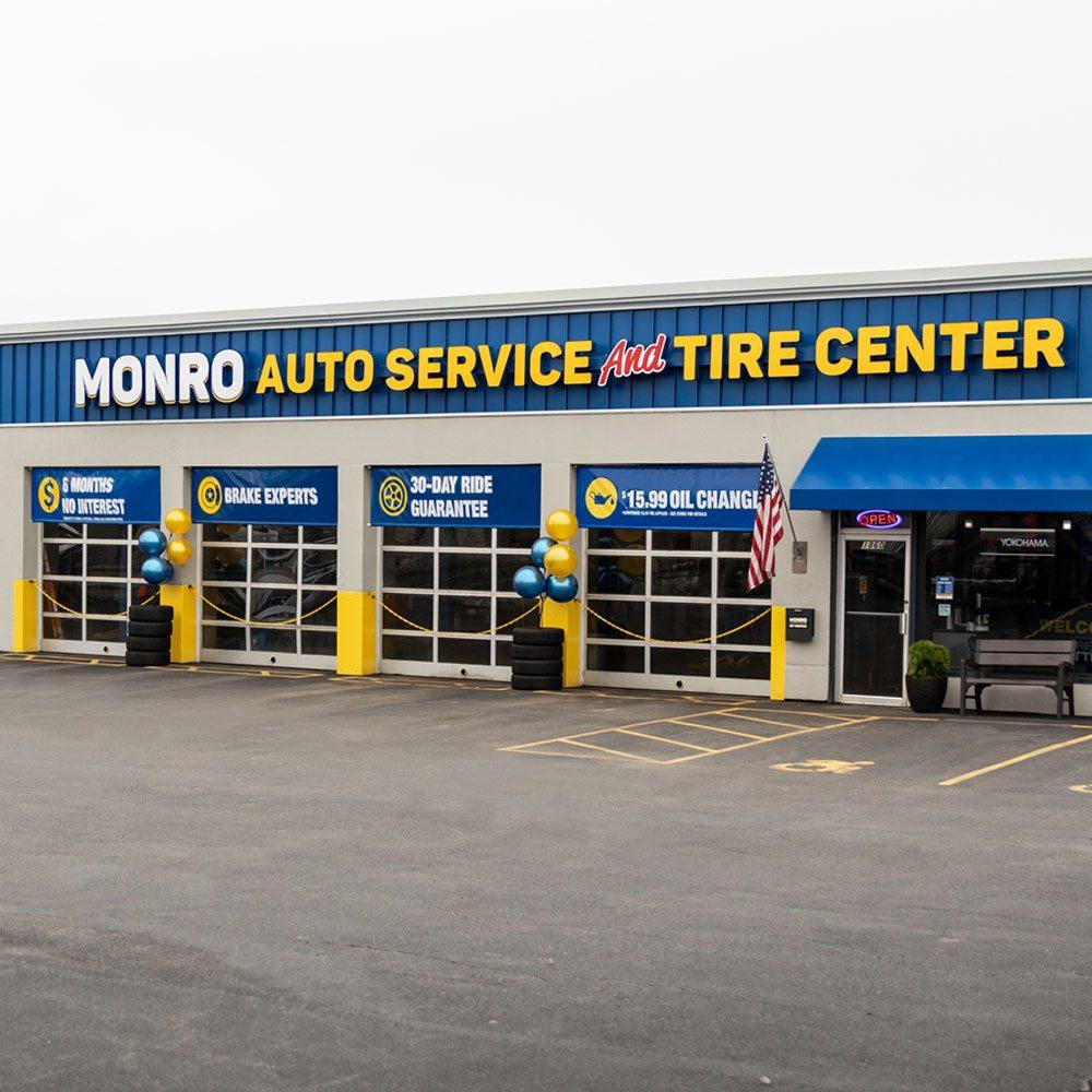 Monro Auto Service And Tire Centers: 133 West Main St, Leroy, NY