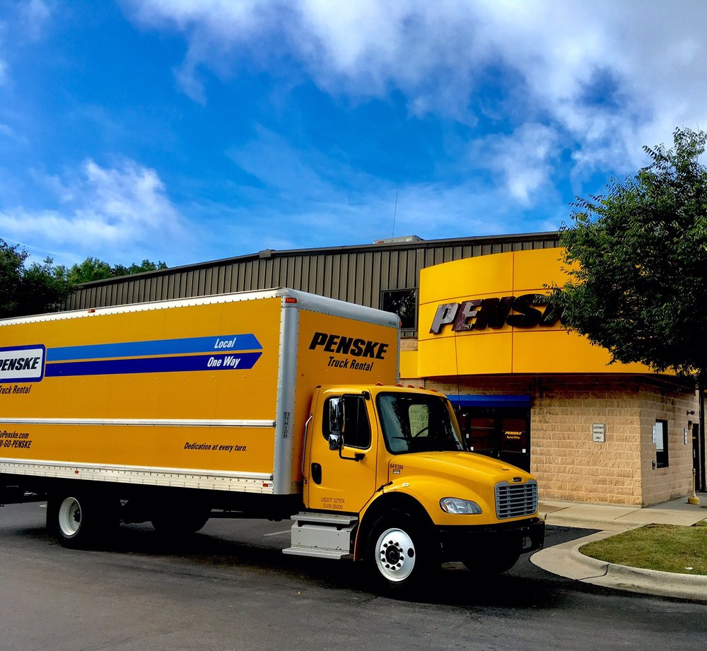 Penske Truck Rental Truck Rental 2824 Spring Forest Rd Raleigh