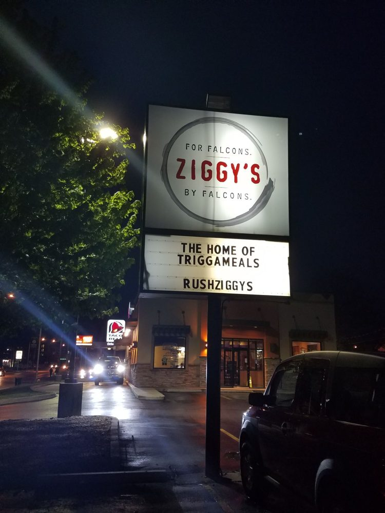 Ziggy Zoomba's: 300 E Wooster St, Bowling Green, OH