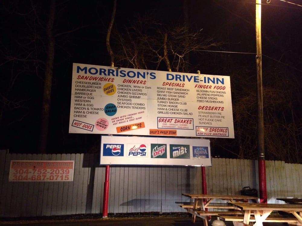 Morrison's Drive Inn: 126 Stollings Ave, Logan, WV