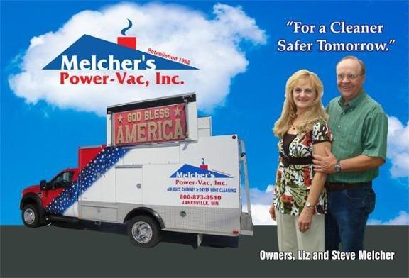 Melcher's Power-Vac: 37339 73rd St, Janesville, MN