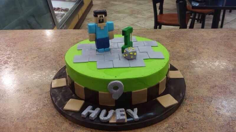 Minecraft Cake In San Jose Yelp