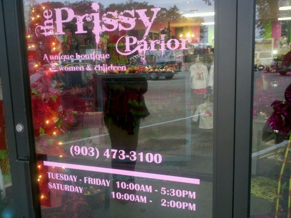 The Prissy Parlor: 886 E Lennon Dr, Emory, TX