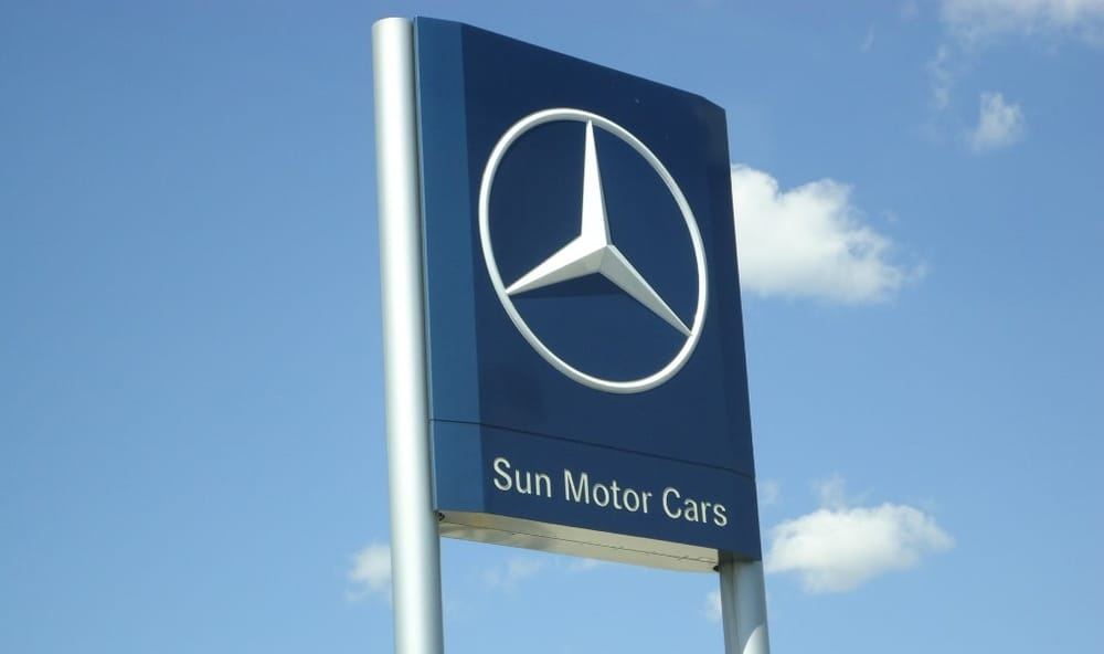 Sun motor cars mercedes benz 14 photos garages 6677 for Sun motor cars mechanicsburg pa