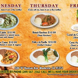 Mexican Seafood Restaurants In Modesto Ca