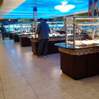 Photo of Crazy Buffet & Grill - Chesapeake, VA, United States. Massive  interior
