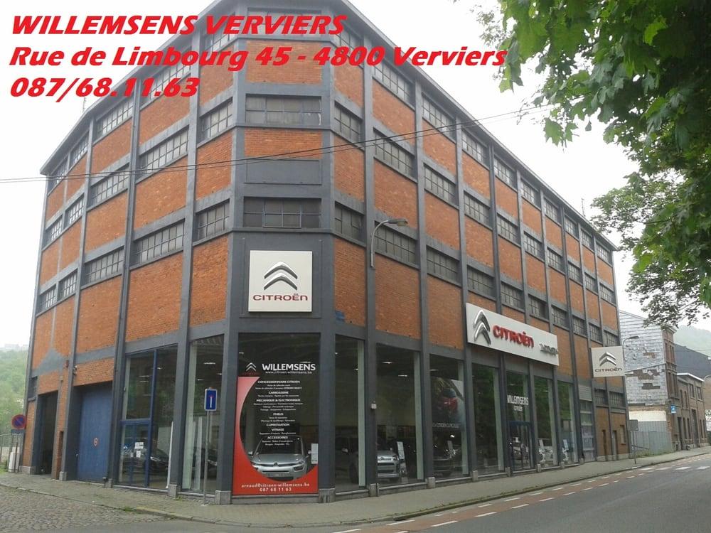 Garage willemsens obter cota o oficinas rue de for Garage rue des bienvenus villeurbanne