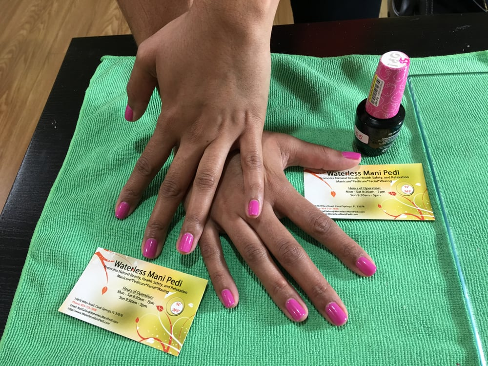 Photos for Waterless Mani Pedi Nail Salon - Yelp