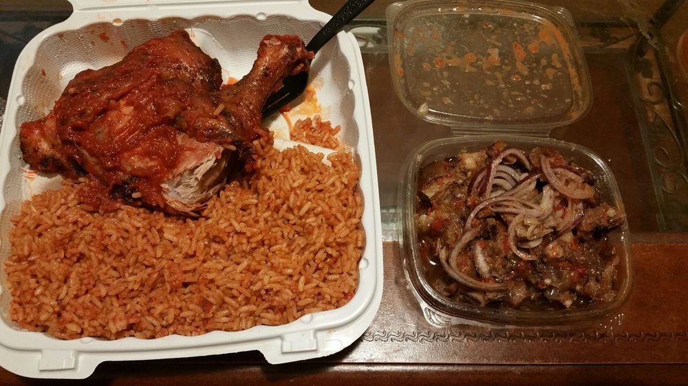 Naija Cafe & Restaurant: 8319 Old Branch Ave, Clinton, MD