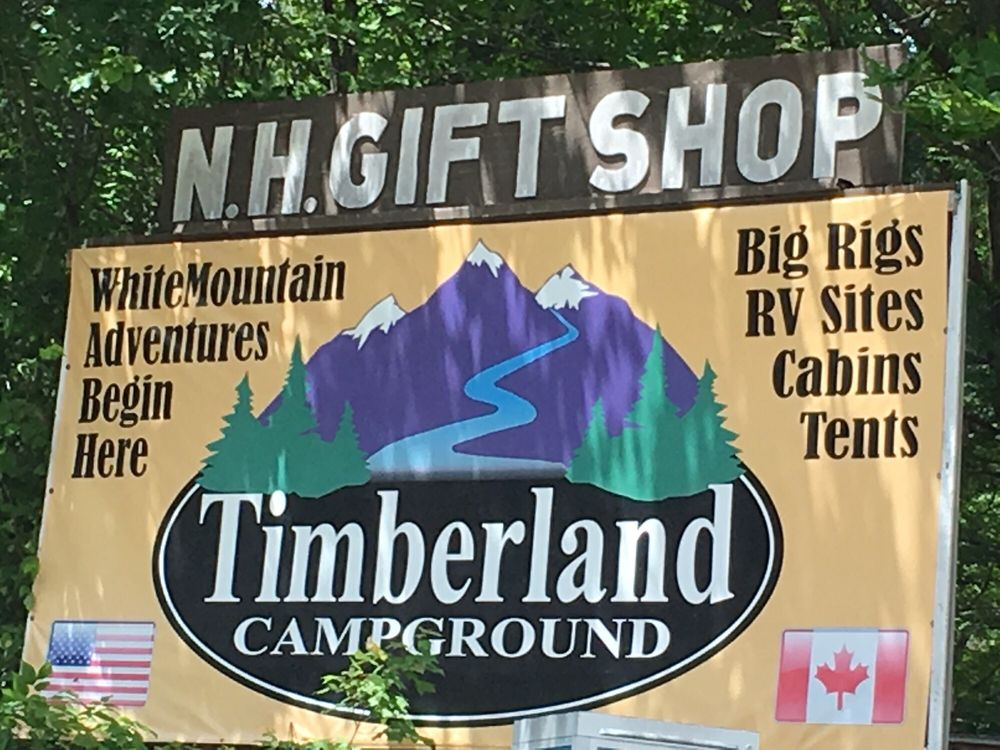 Timberland Campground: 809 State Rt 2, Shelburne, NH