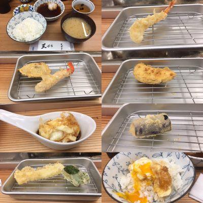 天ぷら すずき>