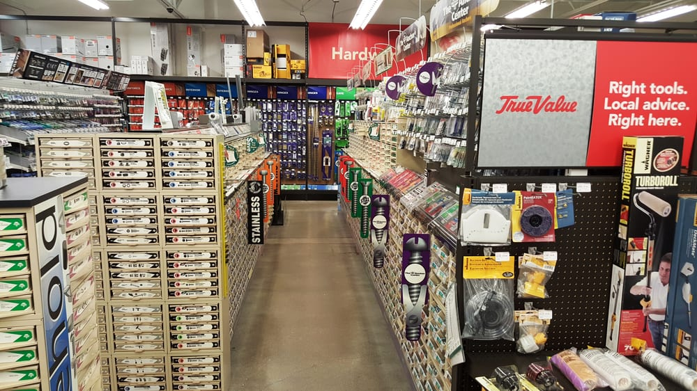 Nuts & Bolts Aisle at True Value of Greenville in Greenville