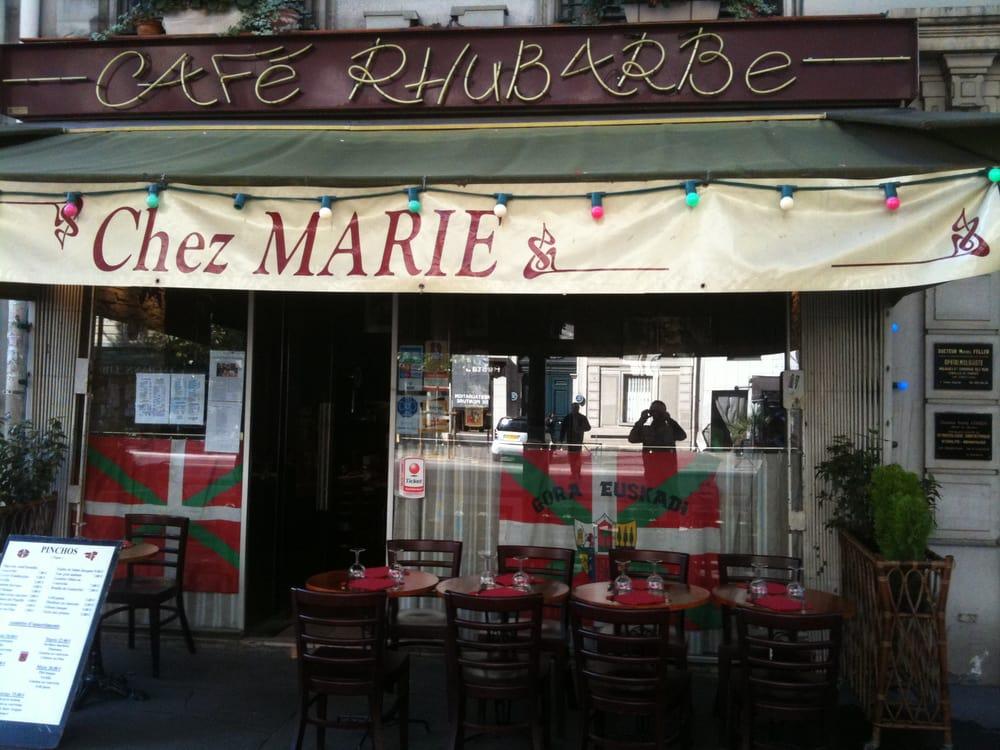 Chez marie french 118 boulevard du montparnasse for Restaurant chez marie marseille