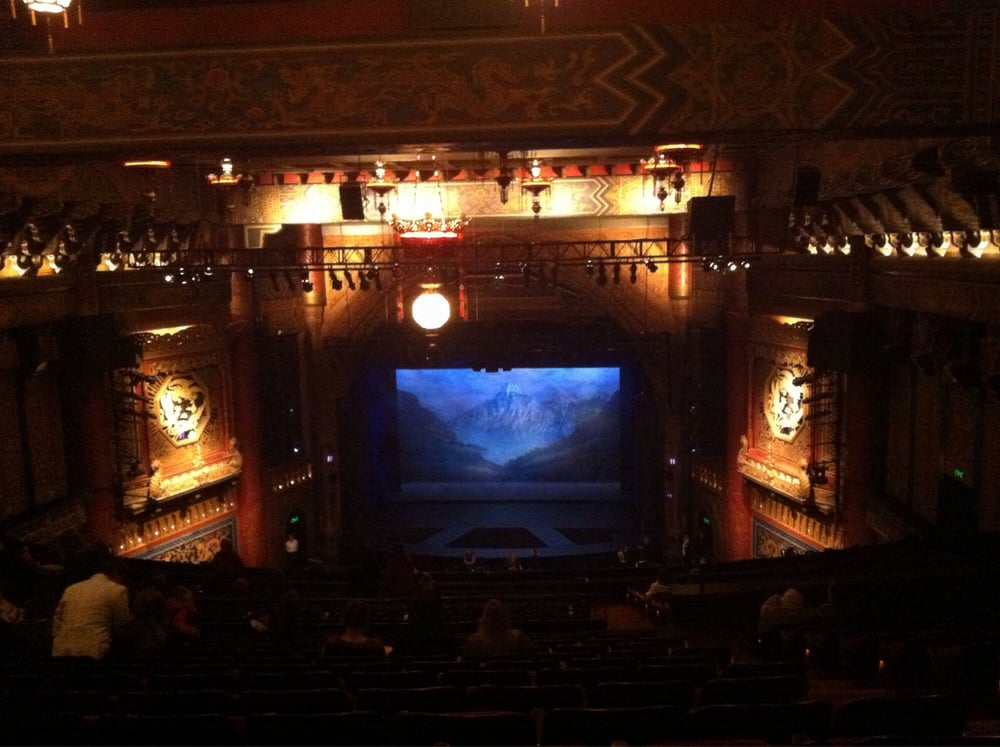 View From Upper Right Mezzanine Row X Seat 2 Yelp
