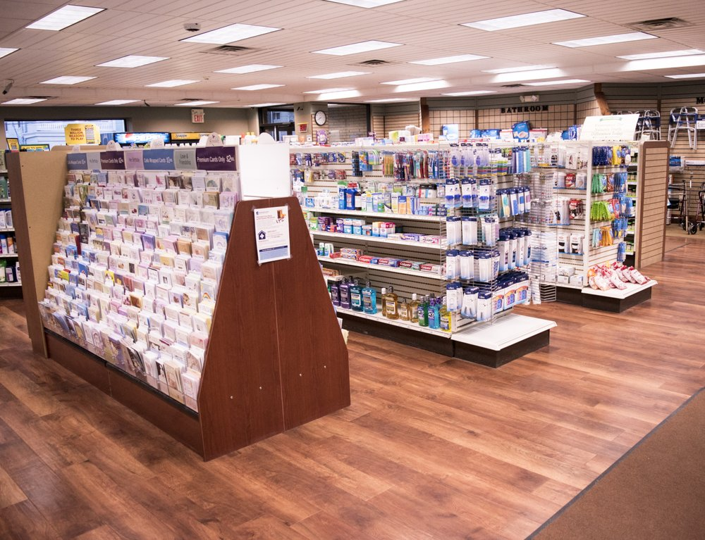 Sheehans Pharmacy: 79 E Carey St, Plains, PA