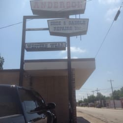 Anderson Shoe & Saddle Repair - Leather Goods - 102 E Texas