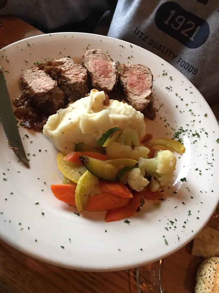 Food from The Bridge Restaurant
