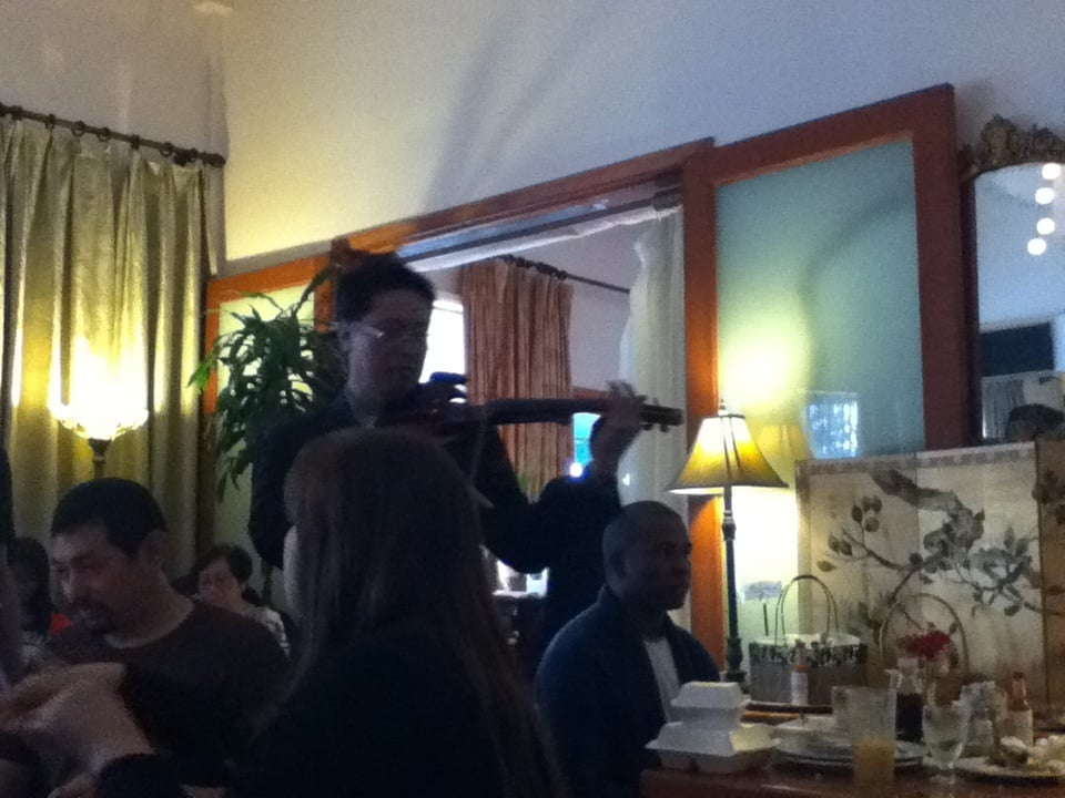 Photo of LA Rose Cafe - Los Angeles, CA, United States. They had a violinist playing filipino love songs