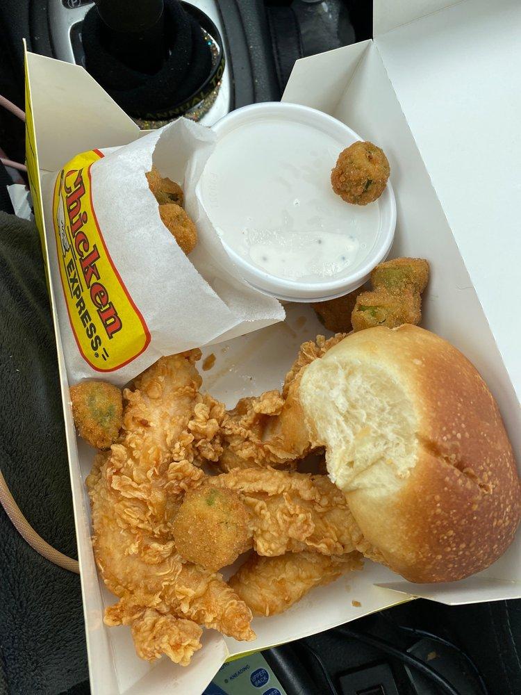 Chicken Express: 1590 TX-24, Commerce, TX
