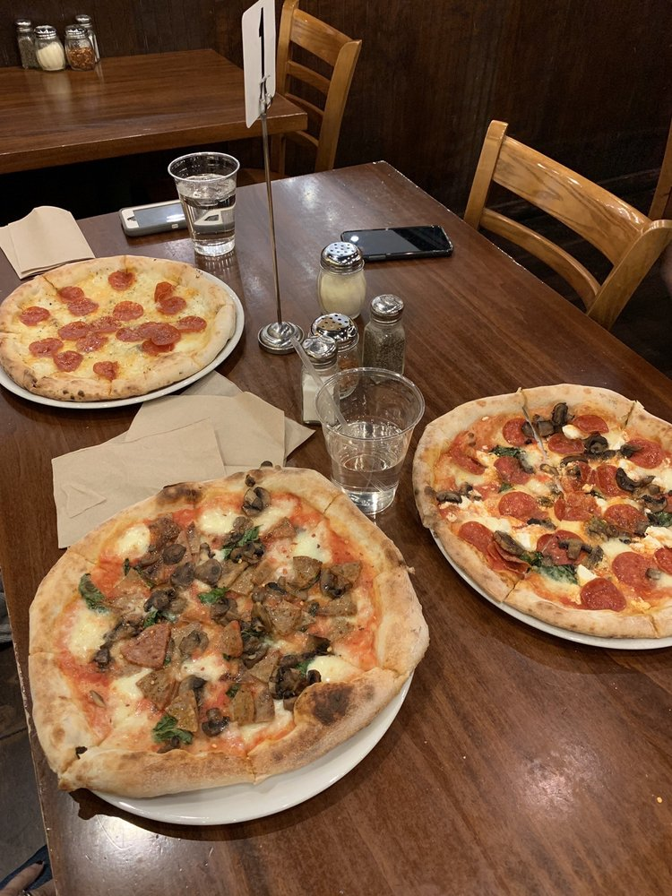 Food from Duca's Neapolitan Pizza
