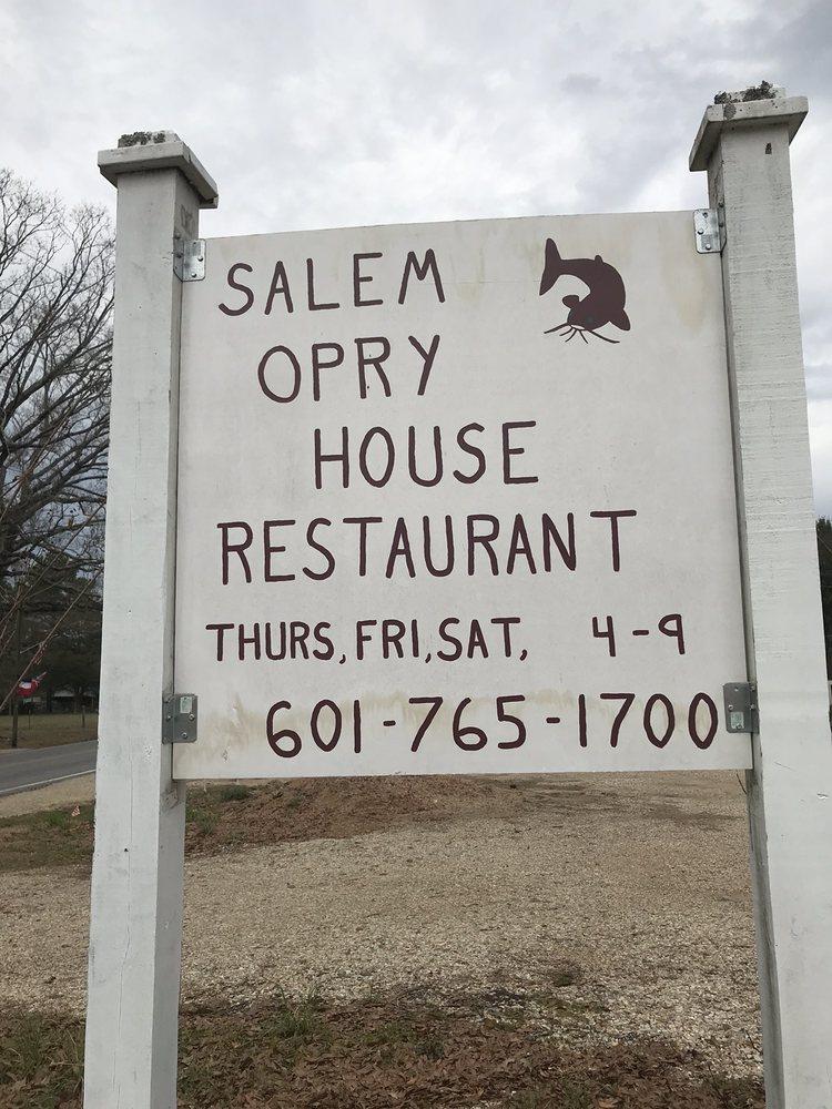 Salem Opry House: 460 Salem School Rd, Collins, MS