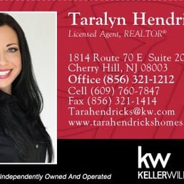 Taralyn hendricks keller williams realty get quote real estate photo of taralyn hendricks keller williams realty cherry hill nj united states my business card reheart Image collections